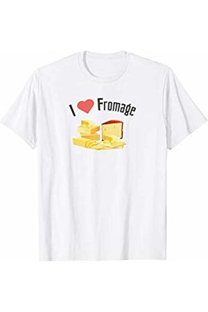 !RALUPOP Shirts for Cheese Lovers | I LOVE FROMAGE Shirt T-Shirt