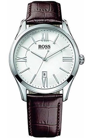 HUGO BOSS Men's Analogue Quartz Watch with Leather Strap - 1513021