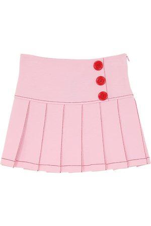 VIVETTA Viscose Blend Milano Jersey Skirt