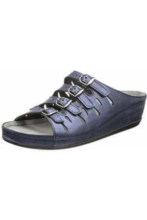 Berkemann Hassel Clogs and Mules Womens Blue Blau (Blau 364) Size: 4.5 (37.5 EU)