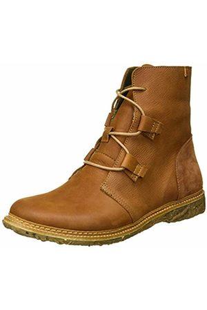 El Naturalista Women's N5470 Pleasant Wood/Angkor Ankle Boots
