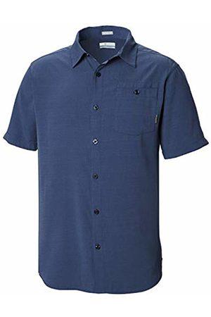 Columbia Men's Mossy Trail Short Sleeve Shirt Carbon