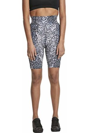 Urban classics Women's Ladies AOP High Waist Cycling Shorts