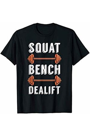 Workout IM Co Squat Bench Deadlift Weigh Lifting Workout Gym Fitness T-Shirt