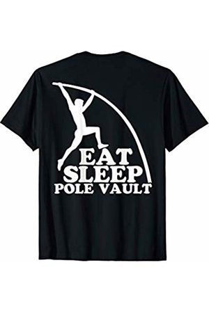 Pole Vault Jump - Valmar Gear Eat Sleep Pole Vault Repeat Track Sport Jump T-Shirt