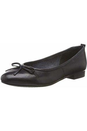 Black Tamaris Women's 22100 Ballet Flats Black Matt 015 3 UK Black