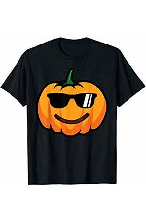 Halloween Funny emoticon Gift Store CO. Halloween Pumpkin Emojis Costume Emoticon Smile Sunglasses T-Shirt
