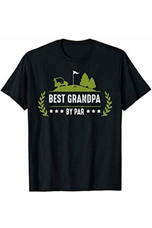 Best Grandpa Gift Ideas Tee Mens Best Grandpa By Par Funny Golf Player Sarcastic Quotes T-Shirt