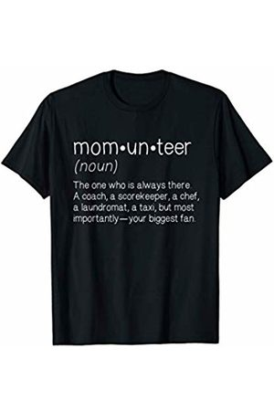 Sports Mom Tees Men T-shirts - Volunteer Mom Funny Sports Team Mother Gift T-Shirt