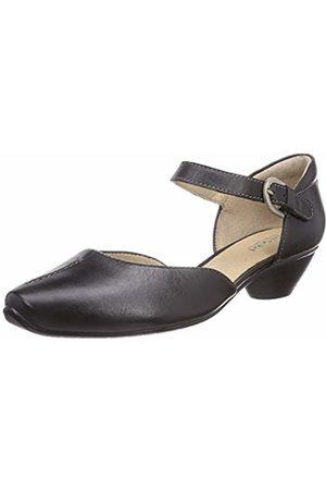 Josef Seibel Womens Tina 17 Ankle Strap Pumps Schwarz (815 600 Schwarz) Size: 6