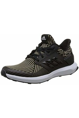 adidas Unisex Adults' RapidaRun Knit Competition Running Shoes, Cblack/Ftwwht