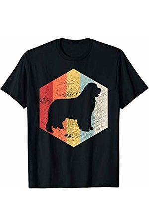 Classic Vintage Retro T-Shirts Vintage Retro Newfie Dog Distressed T-Shirt