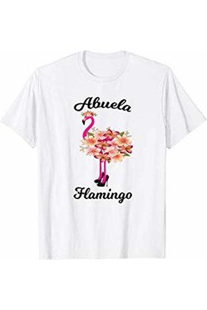 HustlaGirl Abuela Flamingo Spanish Grandmother T-Shirt