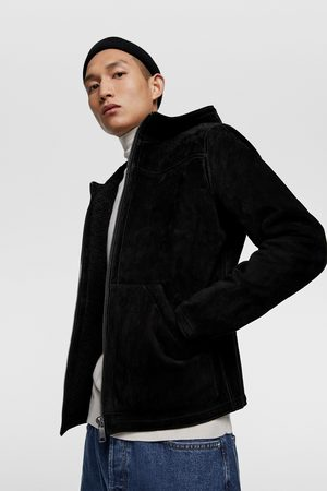 Zara Double-sided leather jacket