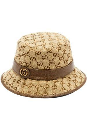 Gucci Men Hats - GG Supreme Canvas Bucket Hat - Mens