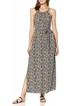 Vero Moda Women's Vmsimply Easy Slit Maxi Dress, AOP:Karen