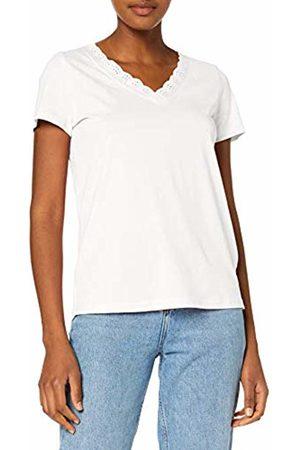 Tom Tailor Women's 1010403 T-Shirt, (Whisper 10315)