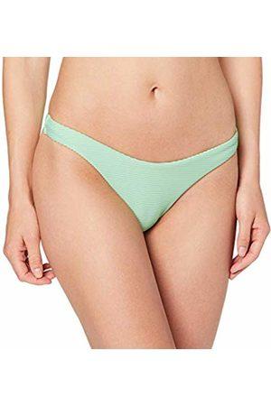 Seafolly Women's Essentials High Cut Bikini Bottoms, Neo Mint
