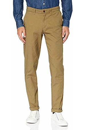 Selected HOMME Men's SLHSLIM Yard Dark Camel Pants W Noos Chino Trouser