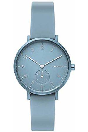 Skagen Unisex Adult Analogue Quartz Watch with Silicone Strap SKW2764