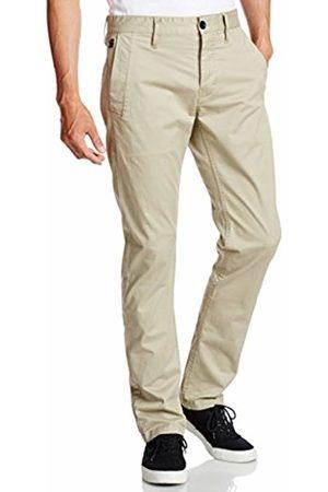 G-Star Men's Trouser, brnsn slm chino, premium micro str tw, dune, 239