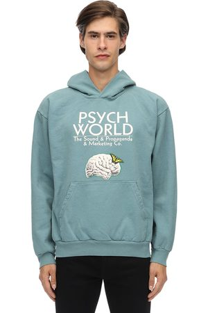 PSYCHWORLD Adam&eve Jersey Sweatshirt Hoodie