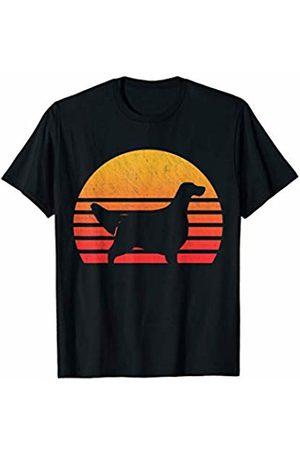 Classic Vintage Retro T-Shirts Vintage Retro Sunset English Setter T-Shirt