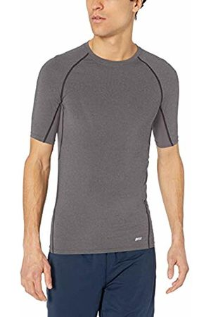 Amazon Control Tech Short-sleeve Shirt Charcoal Heather