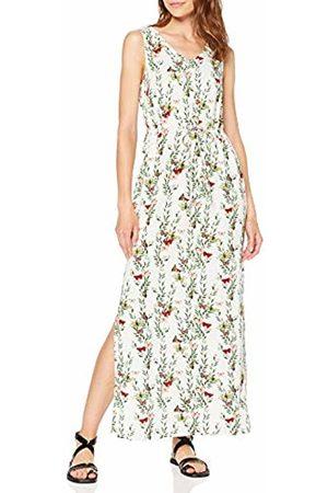 Vero Moda Women's Vmsimply Easy Sl Tank Maxi Dress, AOP:Betty-Snow