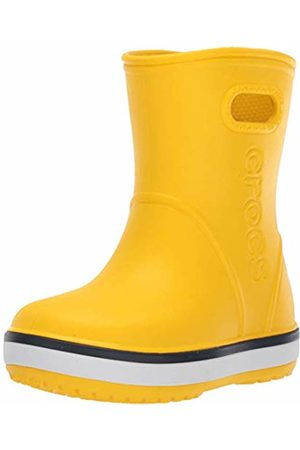 Crocs Crocband Rain Boot Kids Wellington ( /Navy 734)