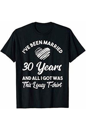 Medotukito 30th Wedding Anniversary Gift and All I Got Was This Shirt