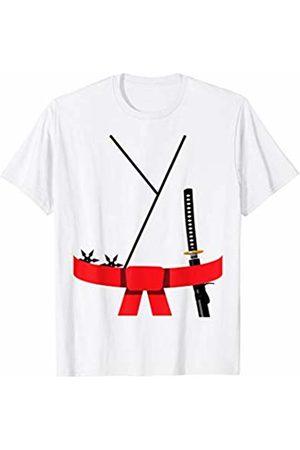 Funny Halloween Designs by FunJDesign Cute Design Red Belt Karate Custome Halloween T-Shirt