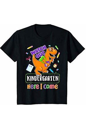 First Day of School & Back to School Gift Tshirt Youth Watch Out Kindergarten Here I Come Funny First Day Of School T-Shirt