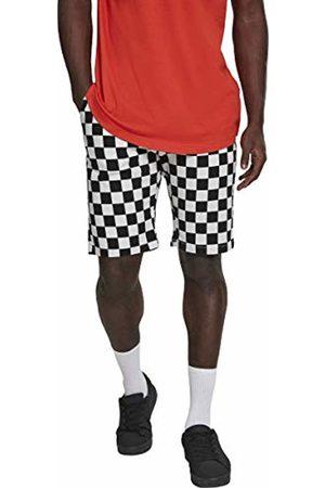 Urban classics Men's Check Twill Shorts (Chess 01683)