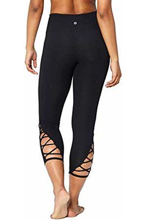 "CORE Women Leggings - Women's Lattice 7/8 Yoga Crop 24"" Leggings"
