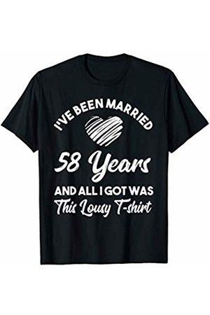 Medotukito 58th Wedding Anniversary Gift and All I Got Was This Shirt