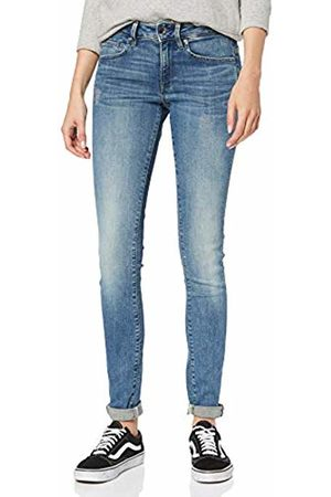 G-Star Women's Midge Zip Mid Waist Skinny Jeans