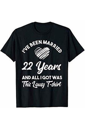 Medotukito 22nd Wedding Anniversary Gift and All I Got Was This Shirt