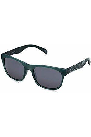 Skechers Men's SE6022 Sunglasses, Matte Dark /Smoke Mirror)