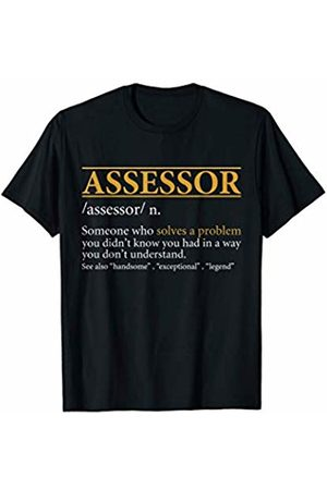 BBP Designs Mens Funny ASSESSOR definition Birthday or Christmas Gift T-Shirt