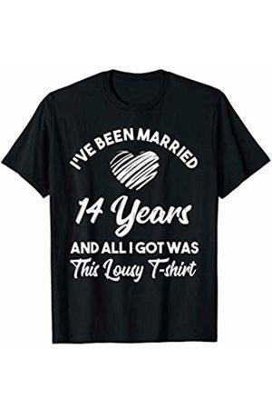 Medotukito 14th Wedding Anniversary Gift and All I Got Was This Shirt