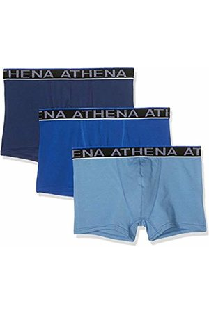 ATHENA Men Swim Shorts - Men's Easy Chic Swim Trunks, Bleu/Marine 1950