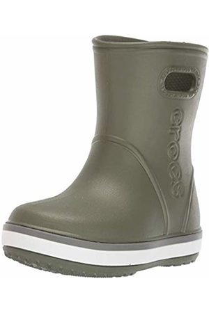 Crocs Crocband Rain Boot Kids Wellington (Army /Slate 3tf)