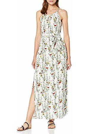 Vero Moda Women's Vmsimply Easy Slit Maxi Dress, AOP:Betty-Snow