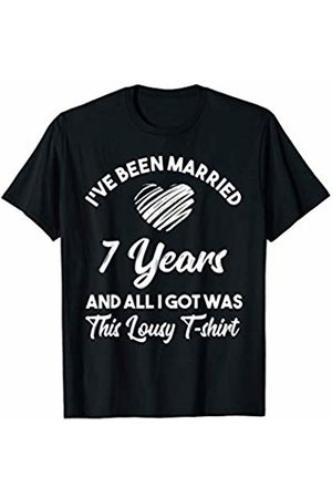 Medotukito 7th Wedding Anniversary Gift and All I Got Was This Shirt