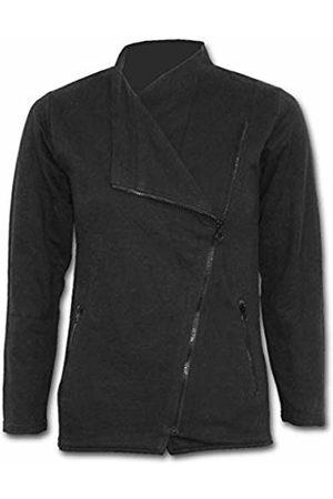 Spiral Direct Metal Streetwear - Slant Zip Women Biker Jacket 001