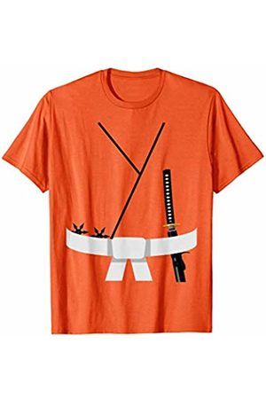 Funny Halloween Designs by FunJDesign Cute Design White Belt Karate Custome Halloween T-Shirt