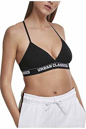 Urban classics Women's Ladies Triangle Logo Bra Wireless ( 00007)