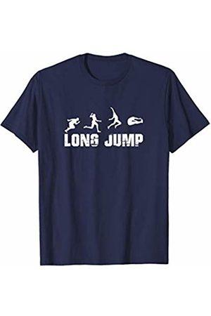 Cool Long Jump Tees Long Jump - Long Jumper - High School Track T-Shirt