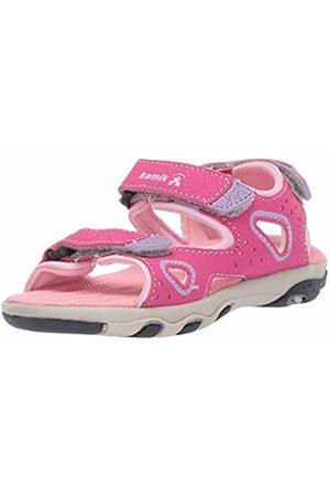 Kamik Girls' LOBSTER2 Ankle Strap Sandals, ( PIN)